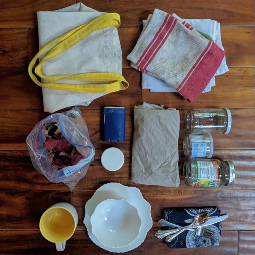 zero waste living is about using old items | 8 Things I Wish I Knew BEFORE Going Zero Waste from www.goingzerowaste.com #zerowaste #ecofriendly #gogreen #sustainable #zerowasteliving
