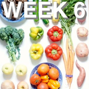 Zero Waste, Meal Prep Week Six