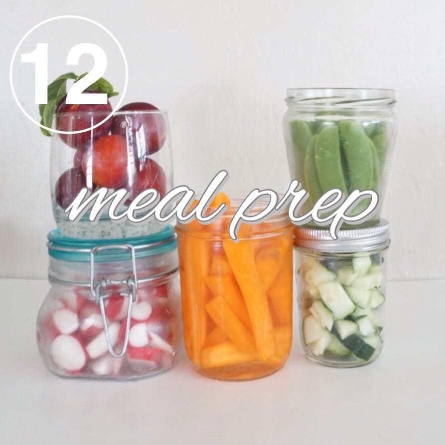 zero waste meal prepping