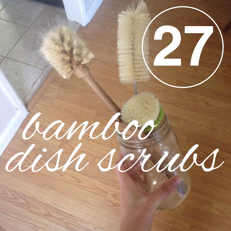 bamboo dishscrubs
