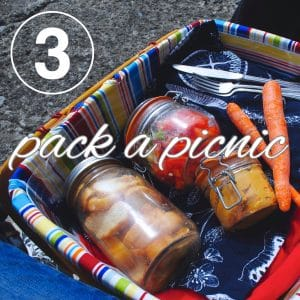 Zero Waste Challenge Day 3: Pack a Picnic