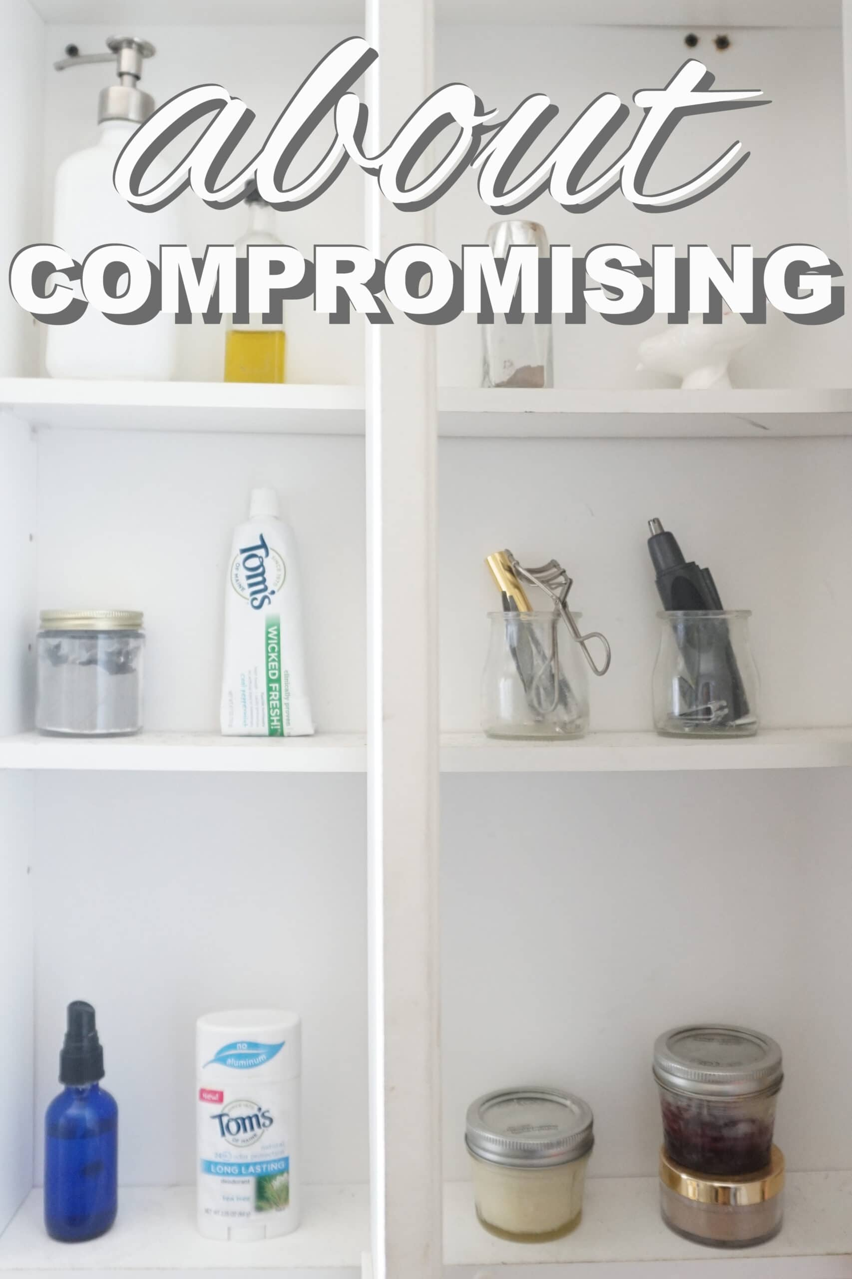 about compromising