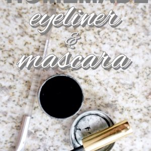 Zero Waste Eyeliner and Mascara