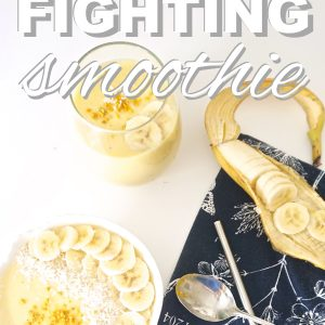 Allergy Fighting Smoothie