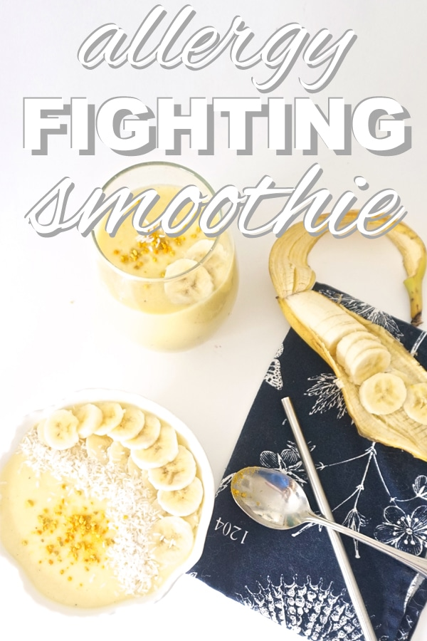 Allergy Fighting Smoothie