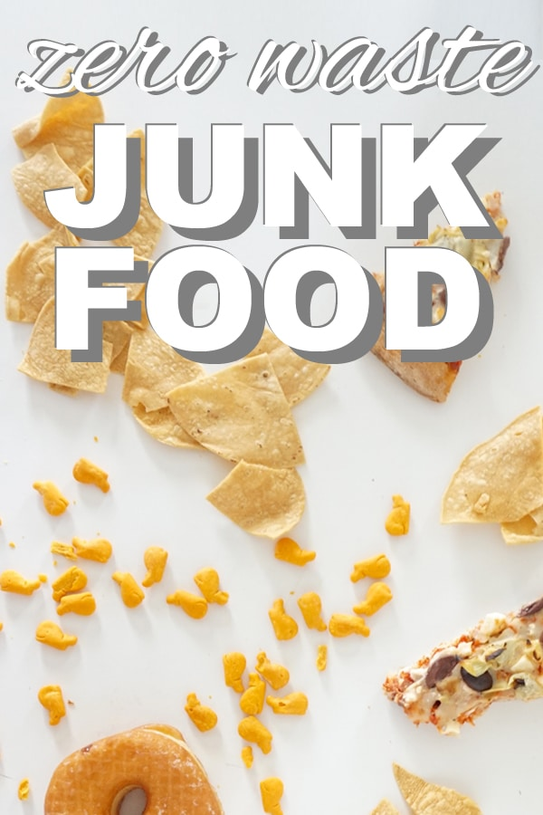 zero waste junk food from www.goingzerowaste.com #junkfood #zerowaste #sustainable #ecofriendly #treats