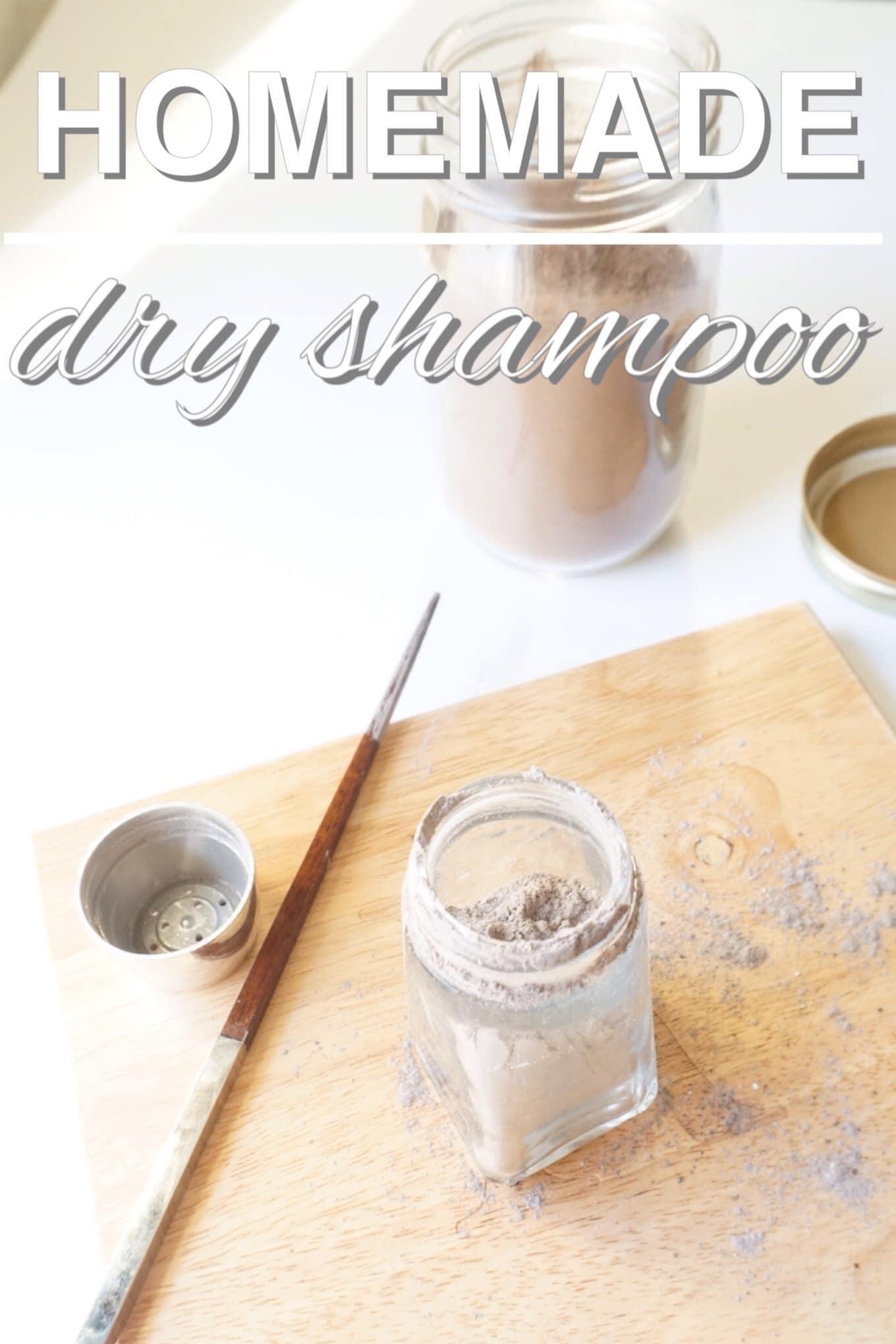 DIY Homemade Dry Shampoo