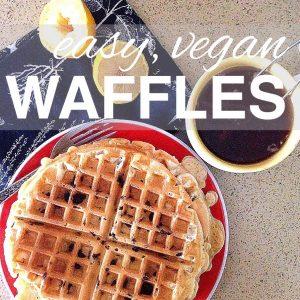 Easy Vegan Waffles
