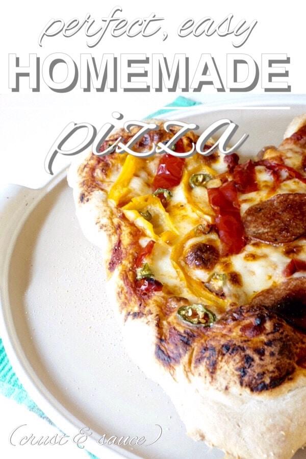 Perfect, Easy, Homemade Pizza Dough