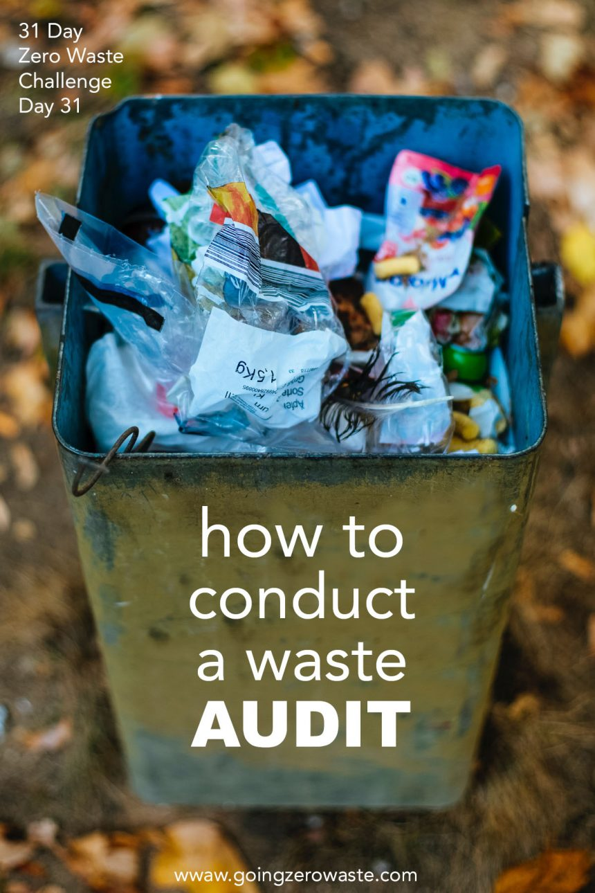 How to Perform a Trash Audit – Day 31 of the Zero Waste Challenge