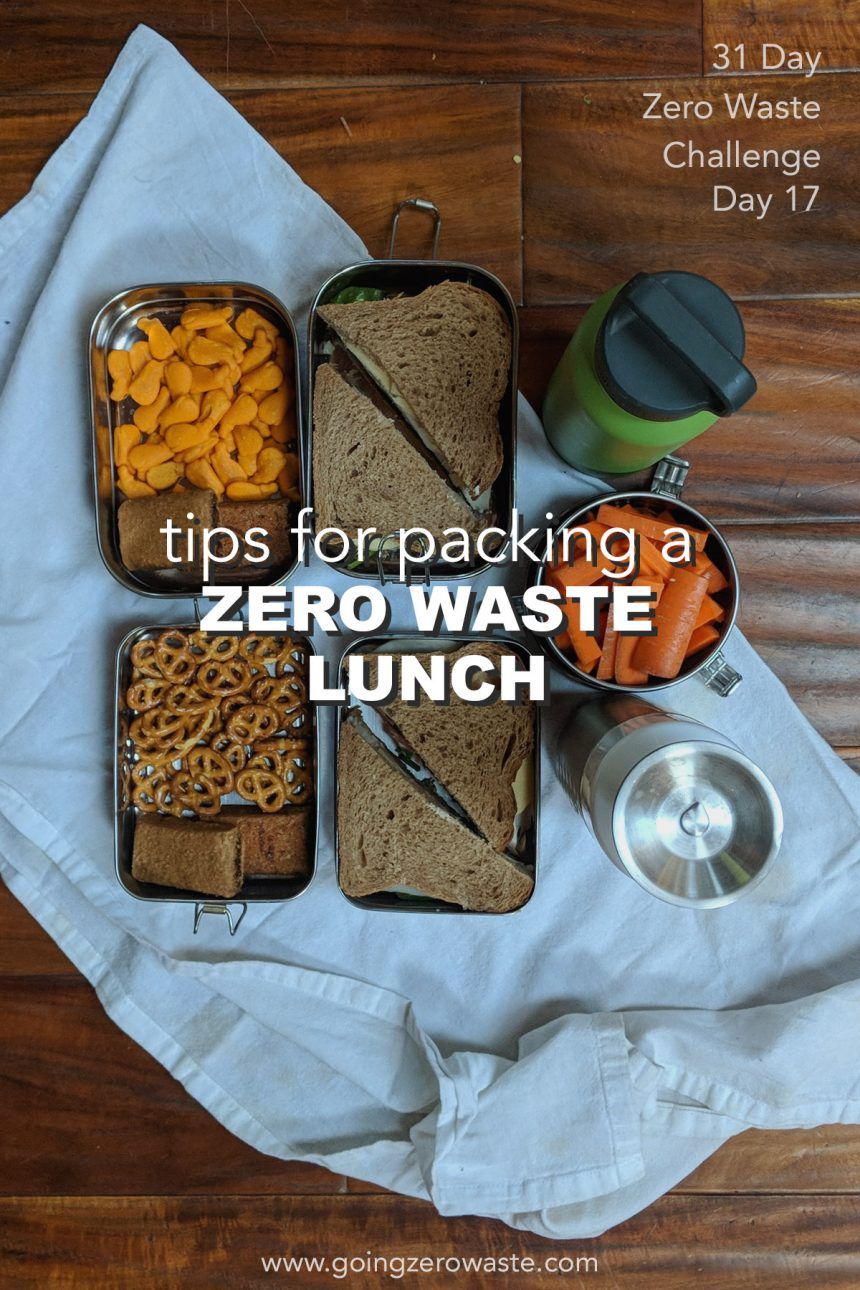 Pack a Zero Waste Lunch – Day 17 of the Zero Waste Challenge
