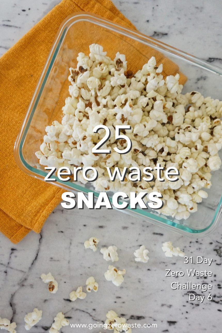 Zero Waste Snacks – Day 7 of the Zero Waste Challenge