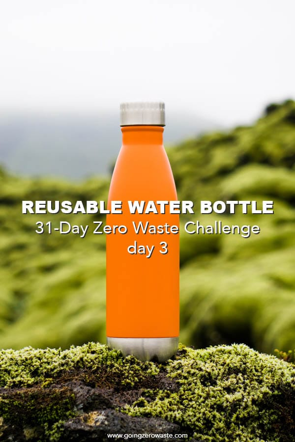 Bring a Reusable Water Bottle – Day 3 of the Zero Waste Challenge