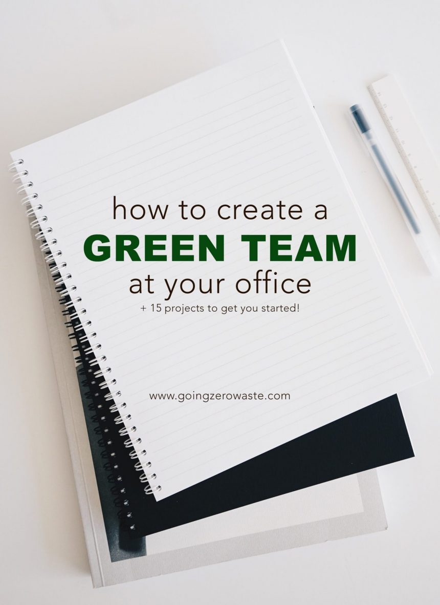 How to Create a Green Team at Work