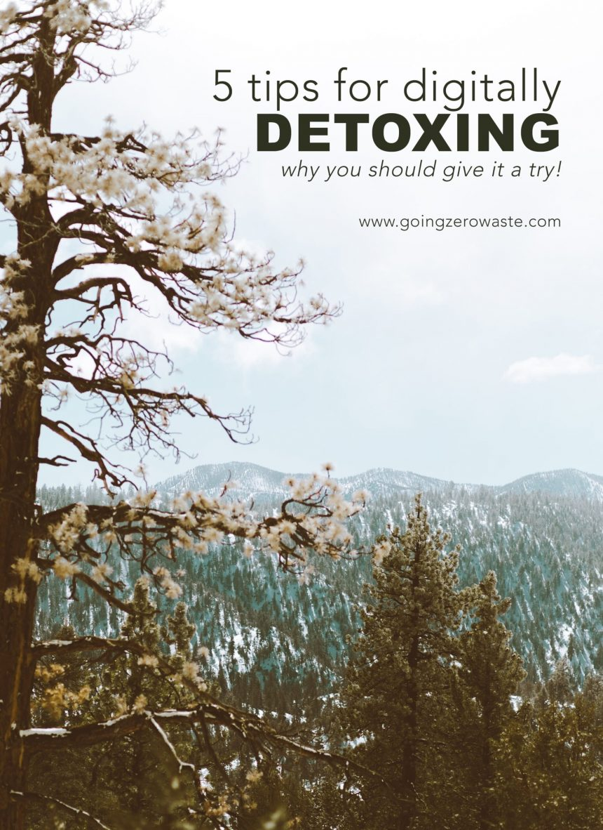 5 Tips for Digitally Detoxing and Why You Should Give it a Try