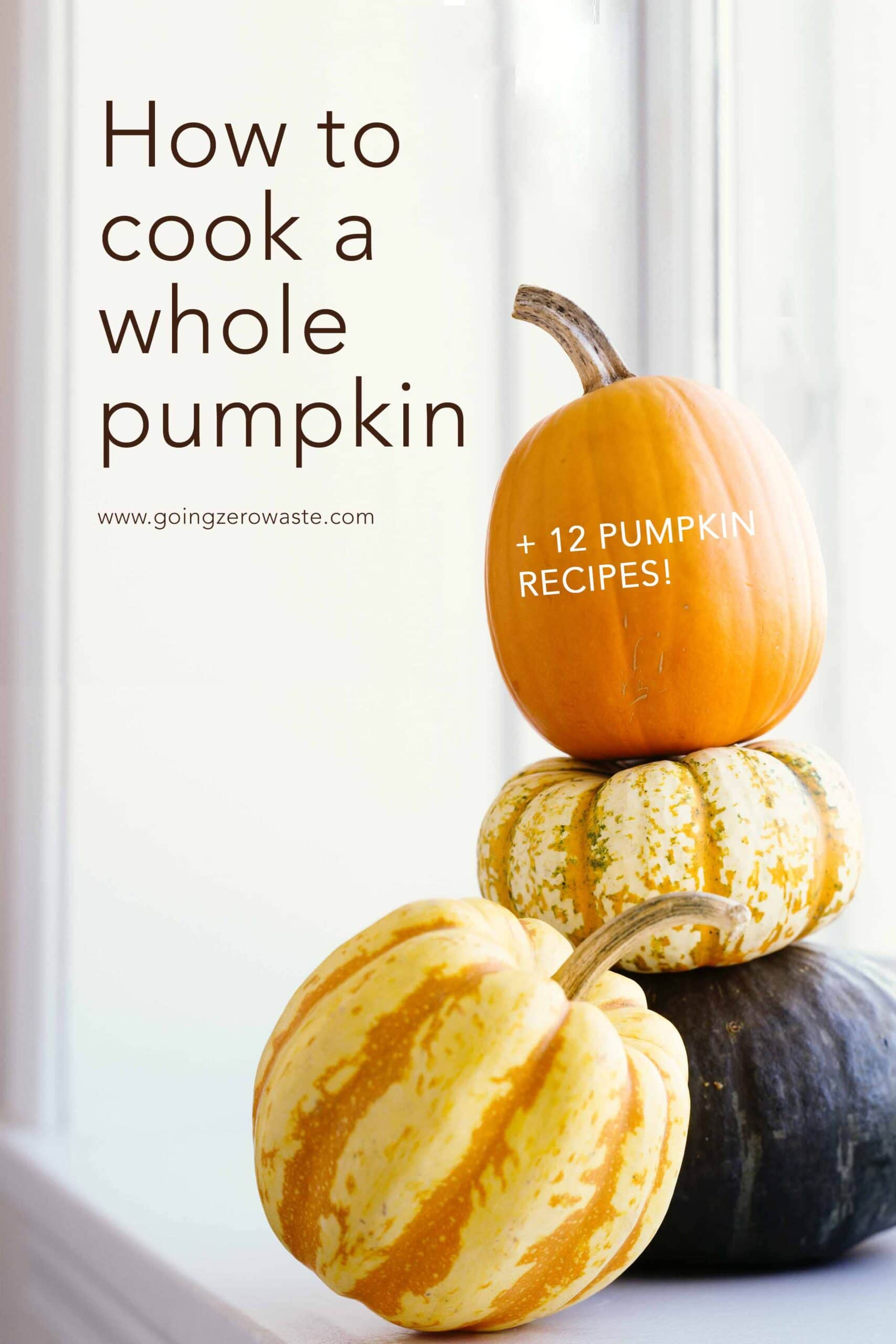 12 Recipes for cooking a whole pumpkin | How to cook a whole pumpkin