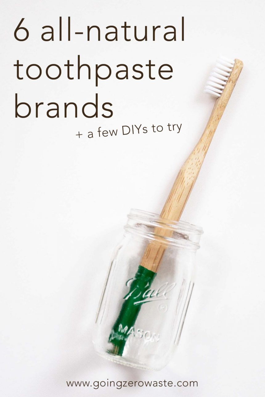 6 All-Natural Toothpaste Brands + DIYs to Try