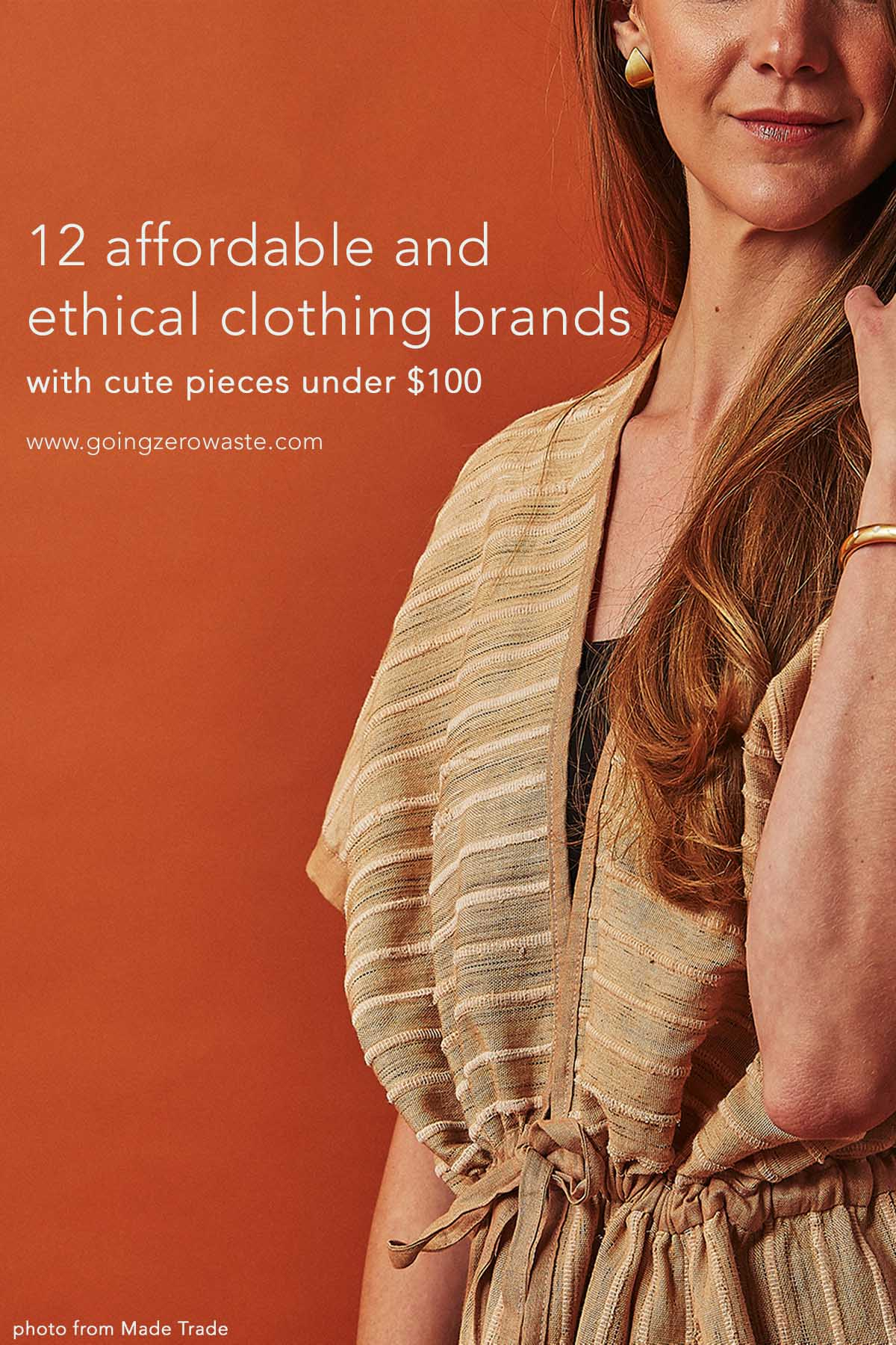 12 Affordable Ethical & Sustainable Clothing Brands