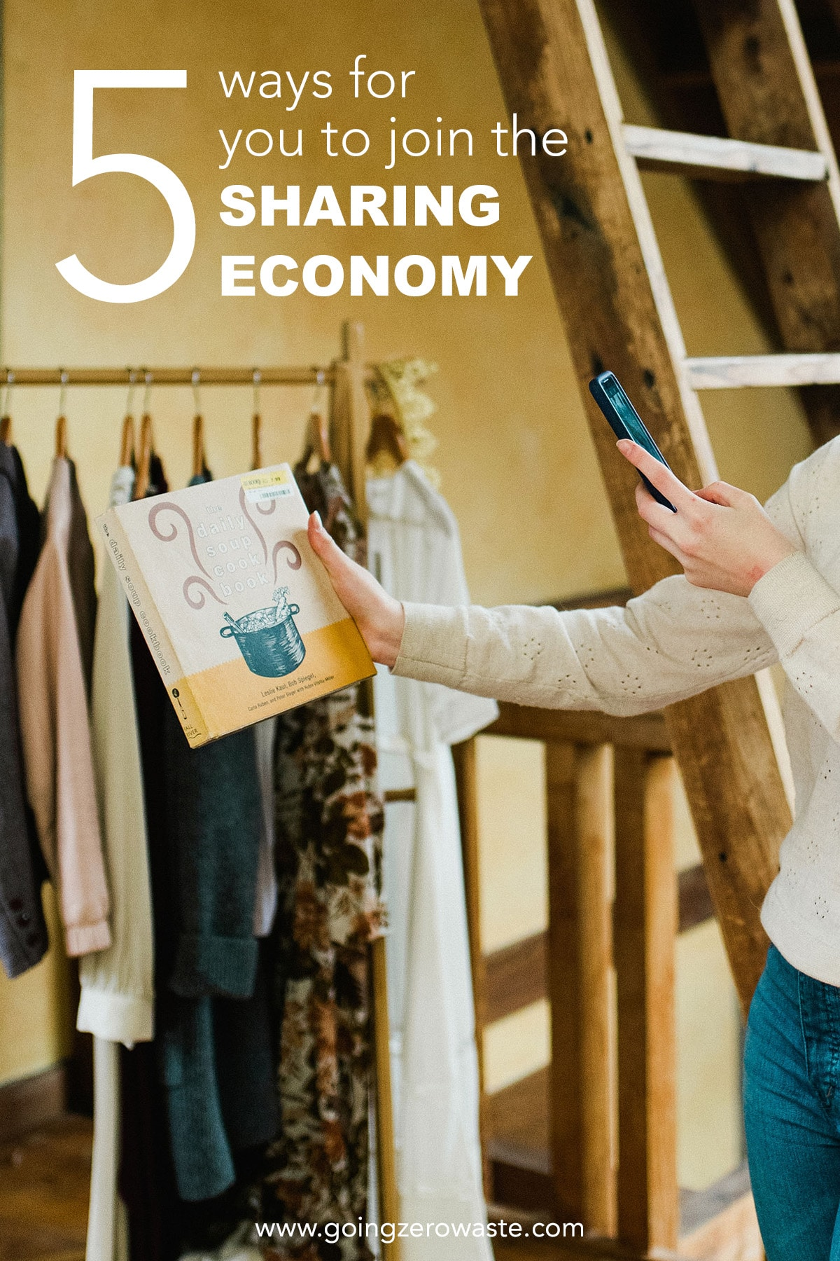 5 Ways for You to Join the Sharing Economy