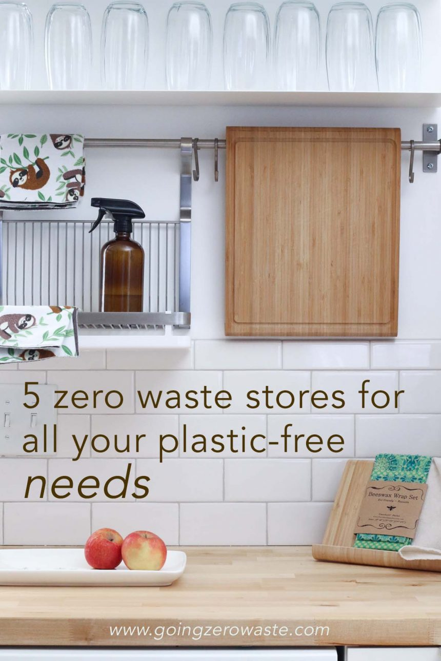 5 Zero Waste Shops for All Your Plastic Free Needs