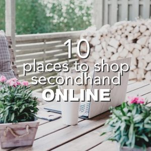 10 Places to Shop Secondhand Online