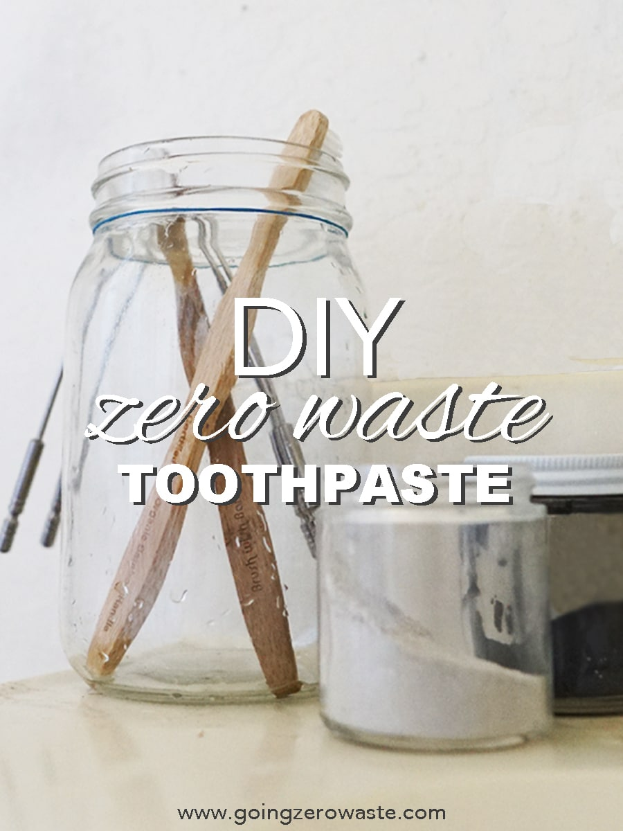 DIY, Zero Waste Toothpaste