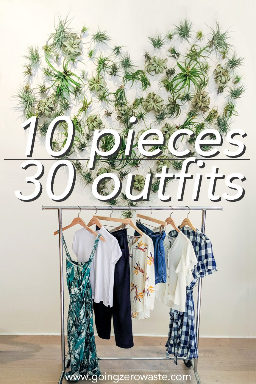 10 Pieces, 30 Outfits