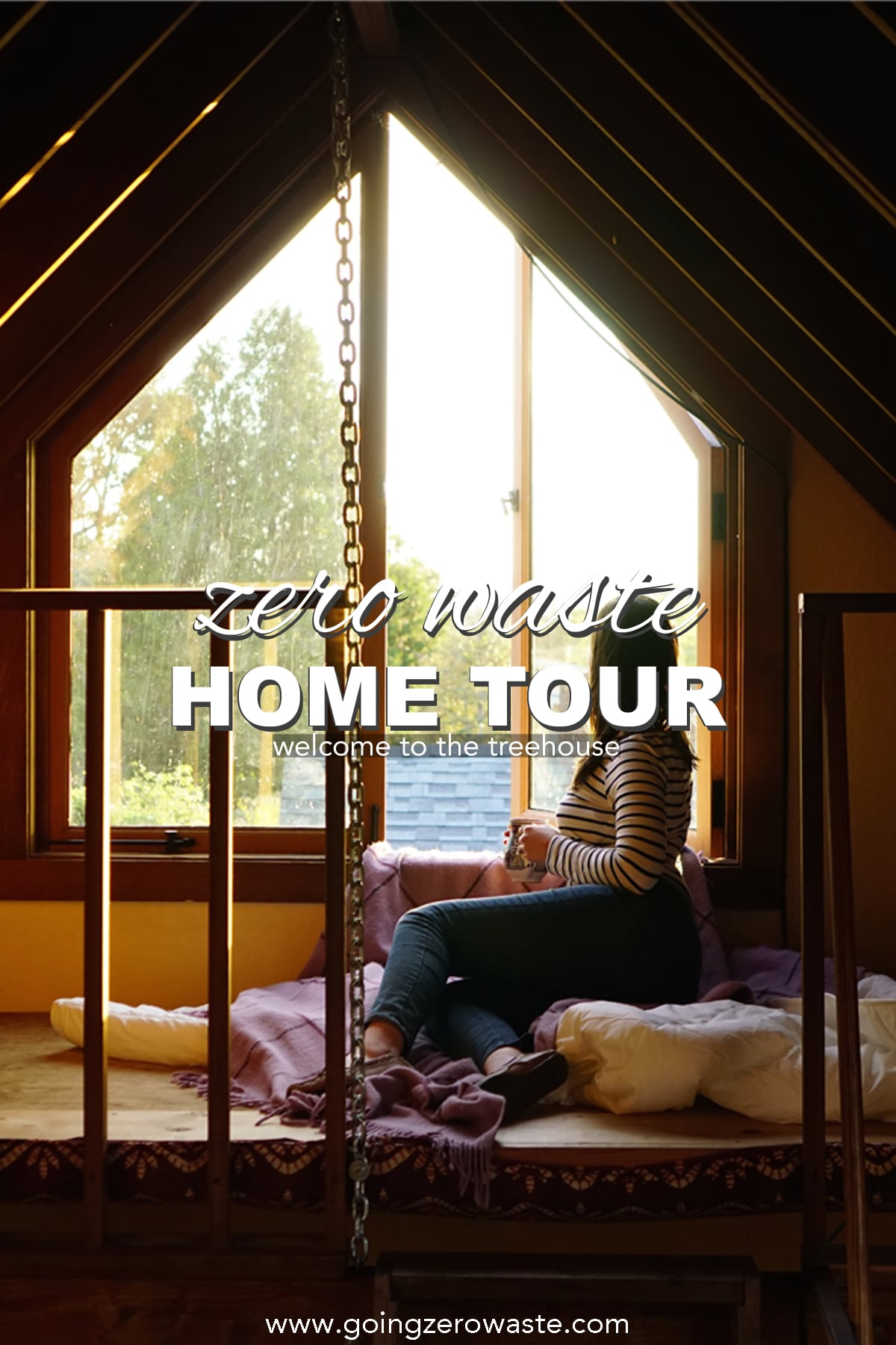 Zero Waste Home Tour - Treehouse Edition