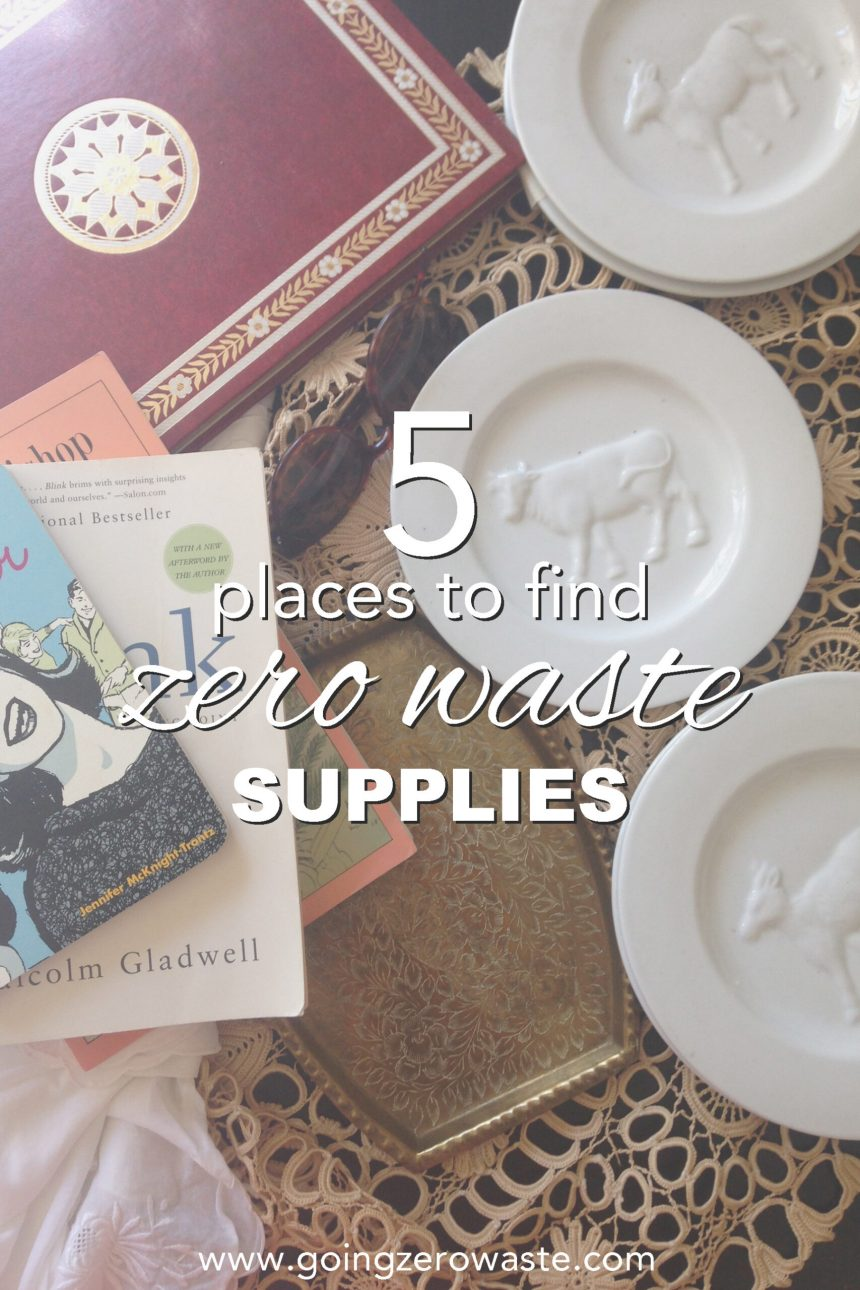 5 Places to Find Zero Waste Supplies