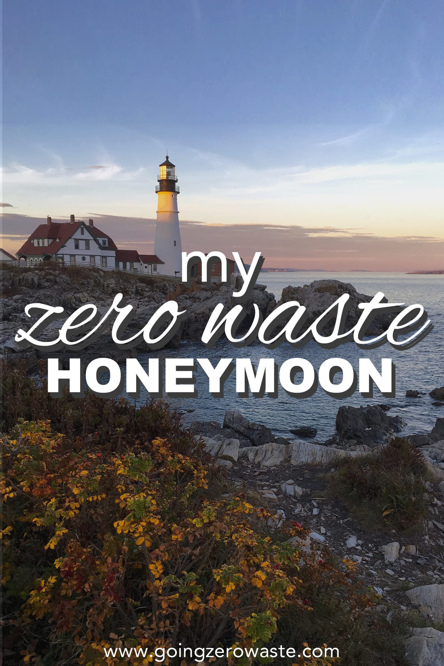 My Zero Waste Honeymoon