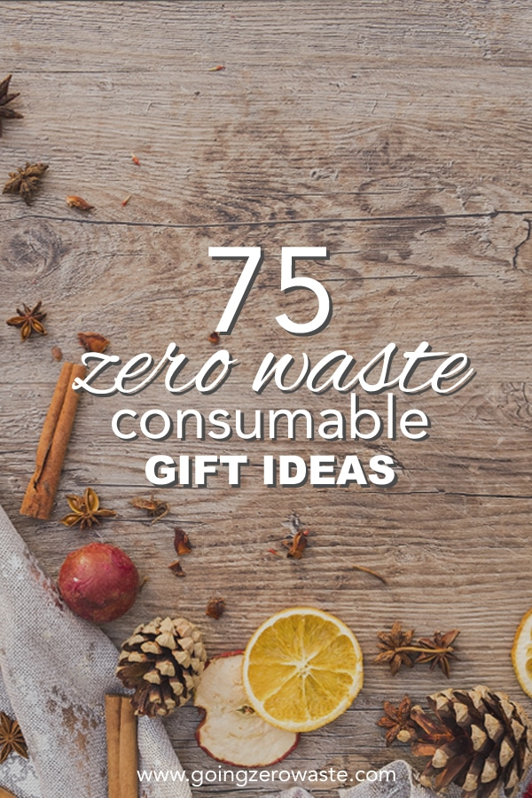 75 Consumable Gift Ideas