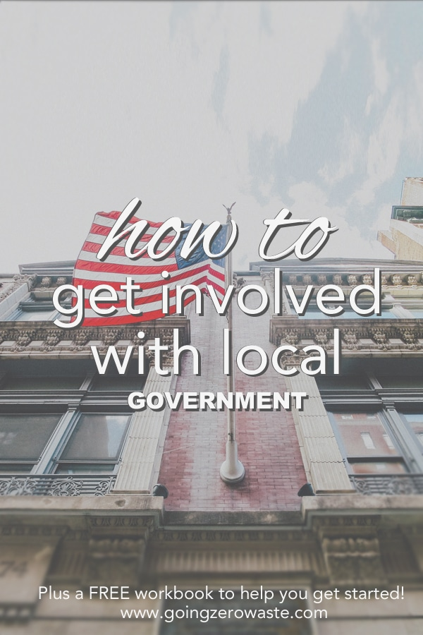 How to Get Involved with Local Government