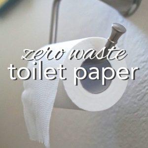 Zero Waste Toilet Paper