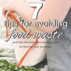 7 Ways to Avoid Food Waste