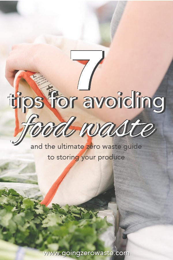 7 tips for avoiding food waste
