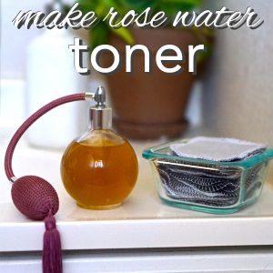 How to Make Rose Water Toner