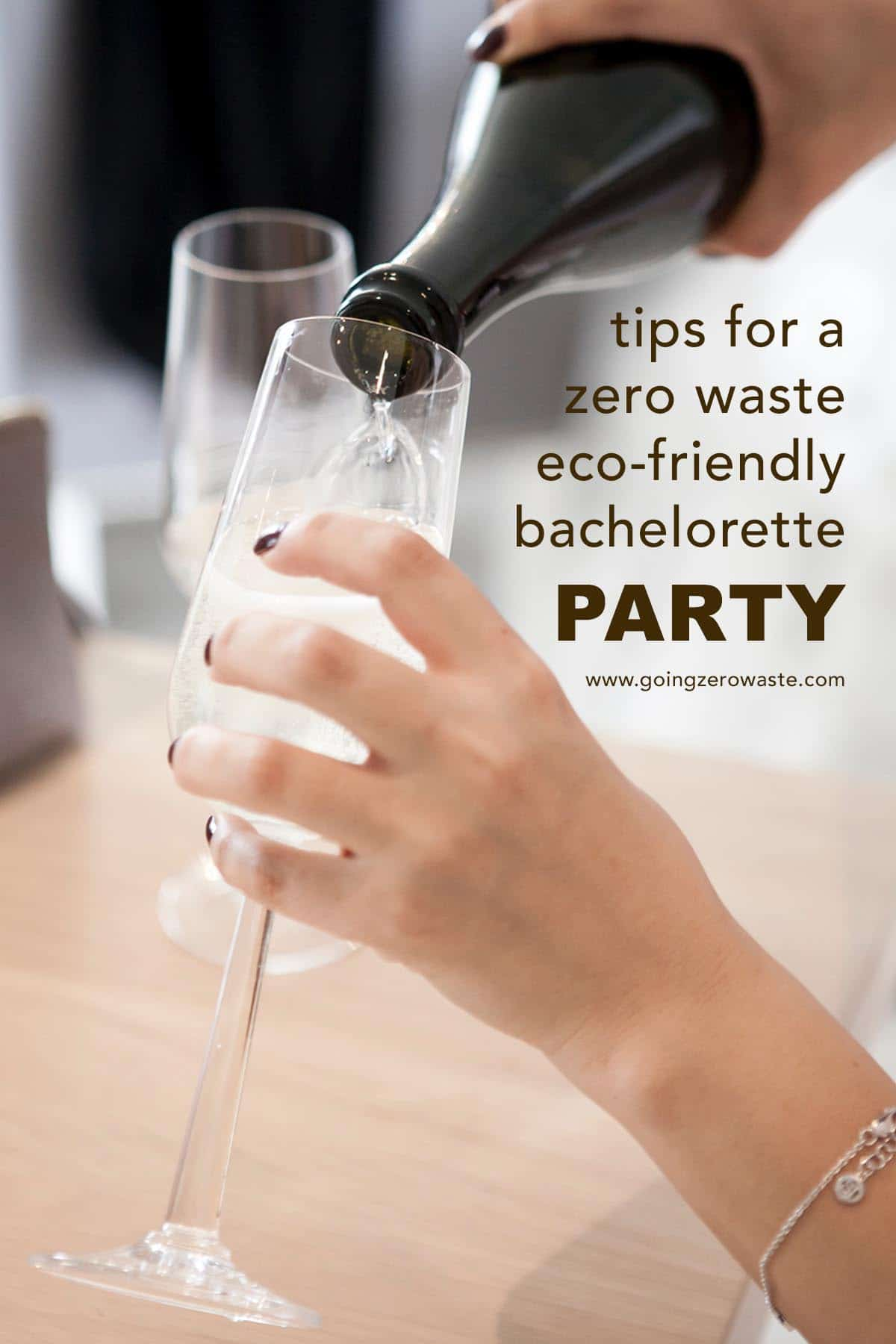 Tips for throwing an eco-friendly and sustainable bachelorette party