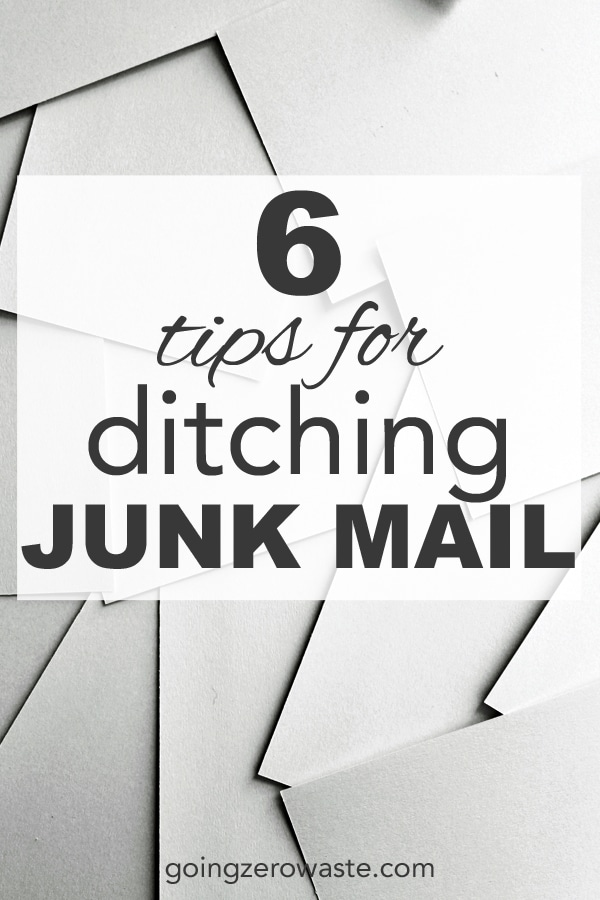 6 Tips for Ditching Junk Mail