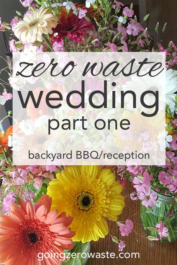 My zero waste wedding part one