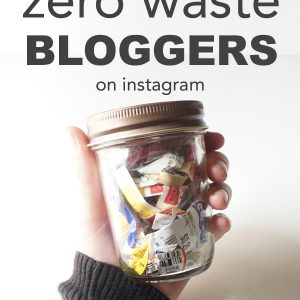 My Favorite Zero Waste Bloggers
