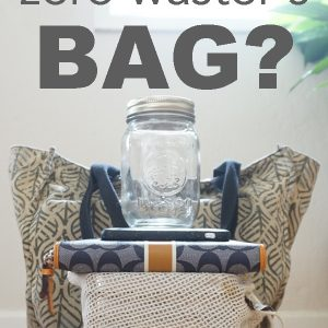 What's in a zero waster's bag!?