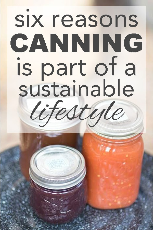 six reasons canning is part of a sustainable life