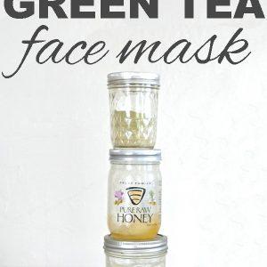 DIY Hydrating Green Tea Face Mask