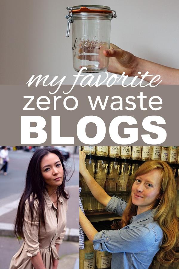 My Favorite Zero Waste Blogs