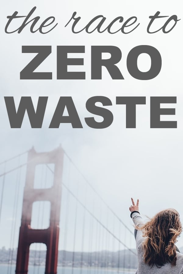 the race to zero waste from www.goingzerowaste.com #zerowaste