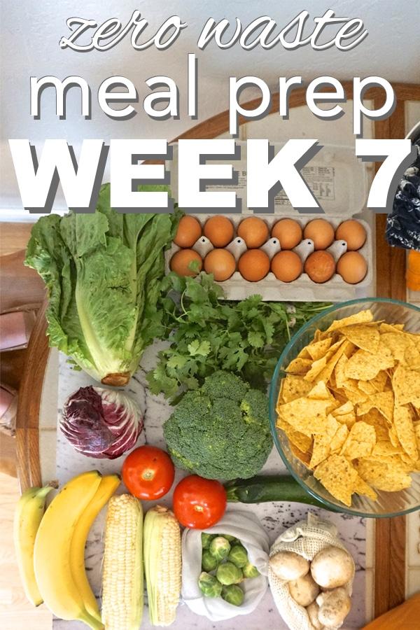 zero waste meal prep