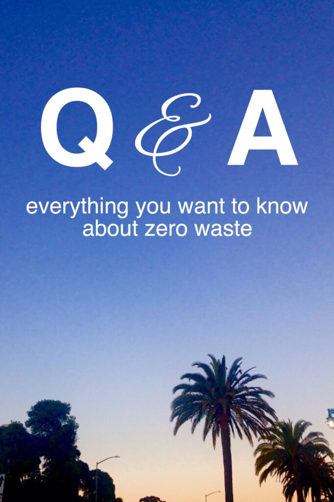 Everything you want to know about zero waste living from www.goingzerowaste.com #zerowaste