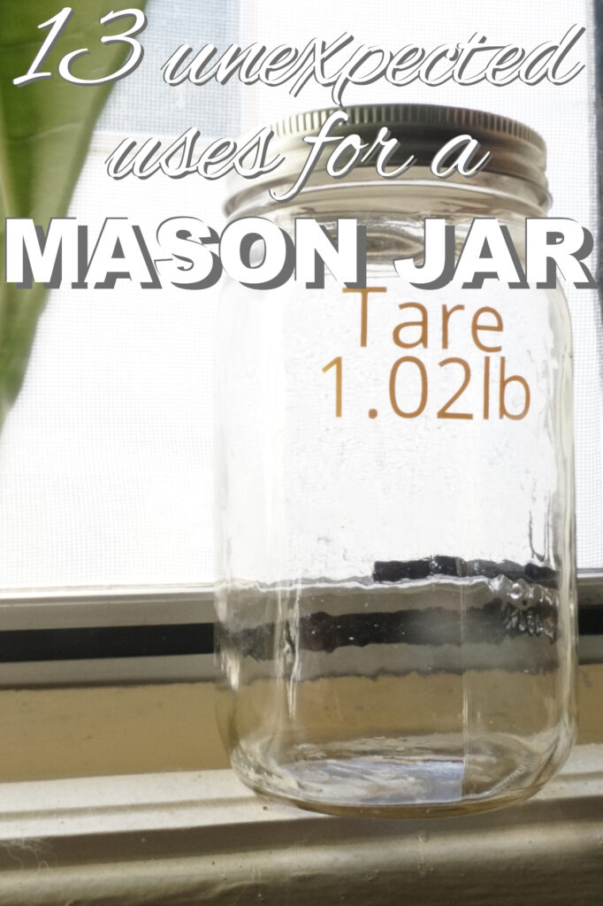 13 Unexpected uses for a mason jar from www.goingzerowaste.com #zerowaste #masonjars #crafts #DIY
