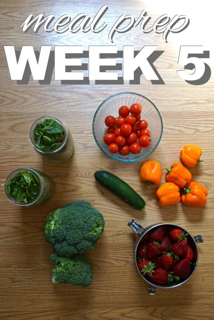 zero waste meal prep week 5 from www.goingzerowaste.com #mealprep #zerowaste #plantbased