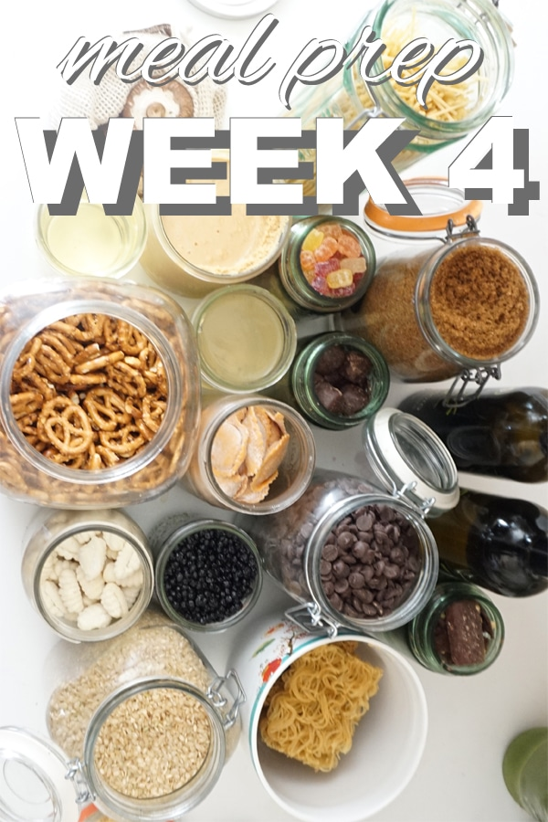 meal prep week 4